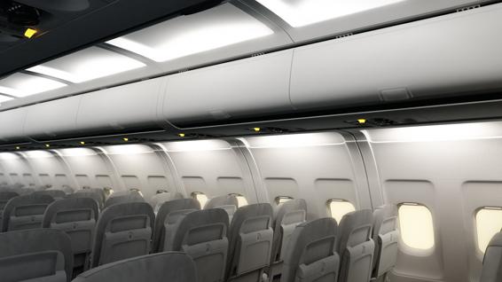 Lufthansa Technik Kabinenvisualisierung